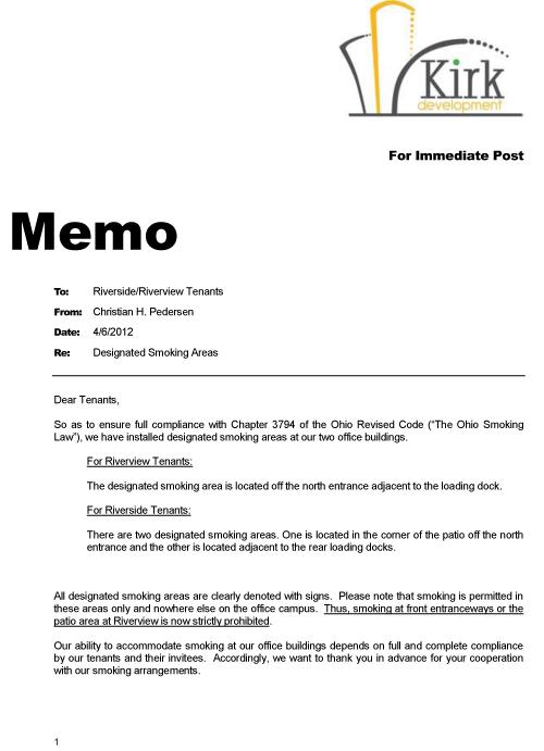 Notices | Kirk Development